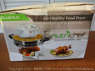 NutriChef Air Fryer, Infrared Convection Oven 13 Quart