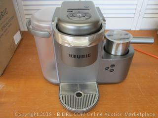 Keurig K-Cafe Special Edition Coffee Maker, Latte and Cappuccino Maker, Milk Frother, (Retail $225)