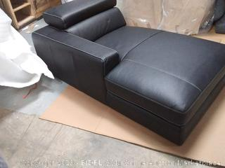 Carrolltown Leather Reclining Sectional with Electric motion recliner (some scuffs on foot rest and arms) online $3,300