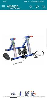 Rad Max Racer Pro 7 Portable Bicycle Trainer Workout Machine ($110 Retail)