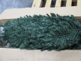 7.5FT Led pre-lit Starry-sky Fiber Optical Dancing Artificial Christmas Tree