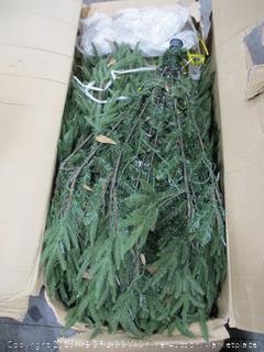 12' LED White Pre-Lit Christmas Tree