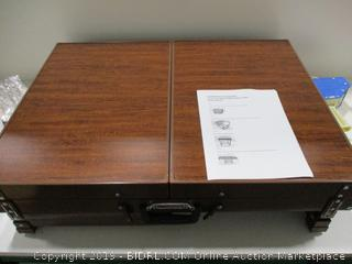 Easy Fold & Store Puzzle Table