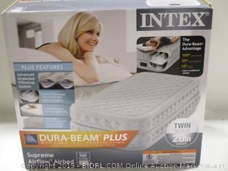 Intex Dura-Beam Plug Twin Mattress