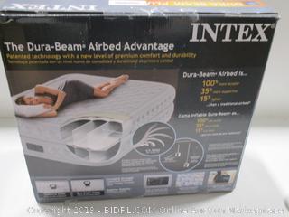 Intex Dura-Beam Plug Queen Inflatable Mattress