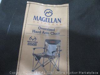 Magellan Outdoors Oversized Hard Arm Chair