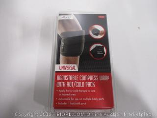 BCG Adjustable Compress Wrap w/ Hot/Cold Pack