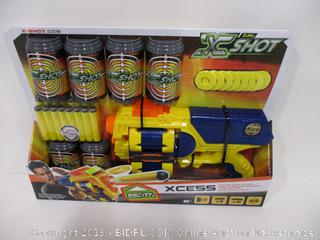 X-Shot Excel Series Dart and Disc Blaster Dual Ammo System
