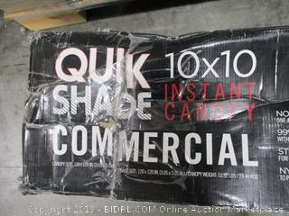 """Quick Shade Commercial 10""""x10"""" Canopy"""