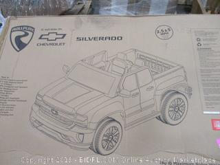 12 Volt Battery-powered Chevy Silverado Truck Ride On Toy Kids Car