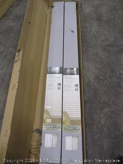 """Home Decorators Collection 2.5"""" Premium Faux Wood Blinds 72""""x64"""""""