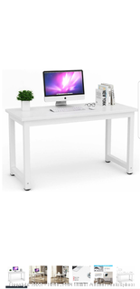 Tribesigns Modern Simple Style Computer Desk (Factory Sealed, Damaged, See Pics)