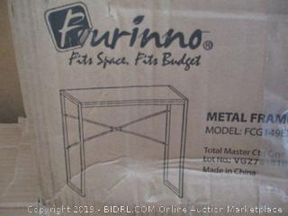 Furinno Metal Frame Computer Table Desk