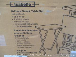 Isabelle 6-Piece Snack Table Set