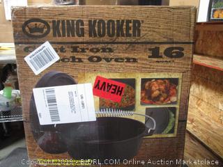 King Kooker Cast Iron