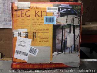 Portable Oven Leg Lit