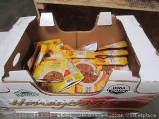 Box Lot Indian Madras Lentils