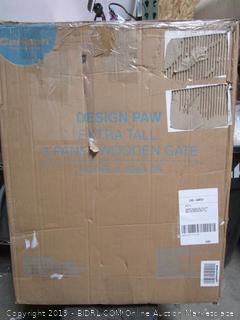 Design PAw Wood GAte