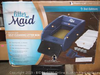 Littlr MAid Self Cleaning Litter Box