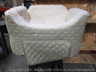 Dog Car Seat with Storage Tray