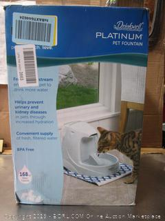 Drinkwell PLatinum Pet Fountain