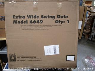 Extra Wide Swing Gate