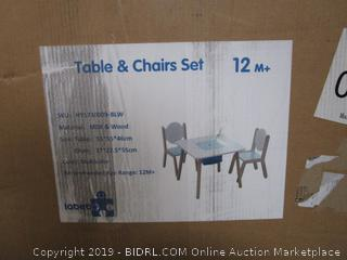 TAble And Chiar