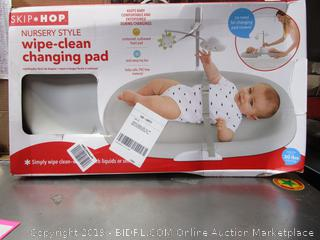 Skip Hop Wipe Clean Changing Table