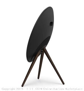 Bang & Olufsen Beoplay A9 Generation Speaker – Iconic Wireless Speaker, Black with Walnut Legs (Online $3000)