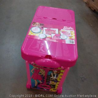 Barbie Rolling Doll Storage Case  See Pictures