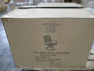 Nassau Swivel Rocker Chair