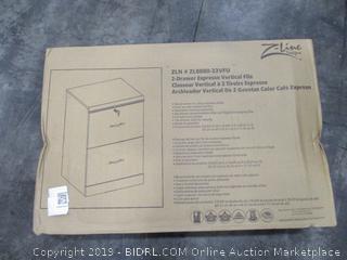 Z-Line Designs Vertical Filing Cabinet