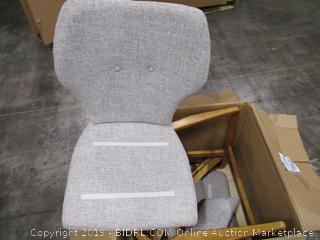 Christopher Knight Home Balen Mid Century Modern Fabric Rocking Chair