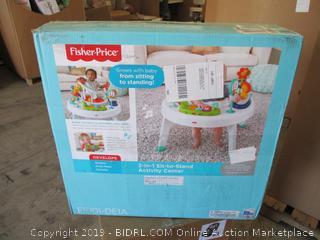 Fisher Price 2-In-1 Sit to Stand Activity Center