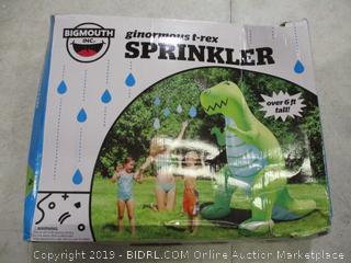 Ginormous T-Rex Sprinkler