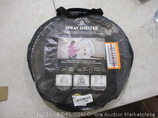 Portable Spray Shelter