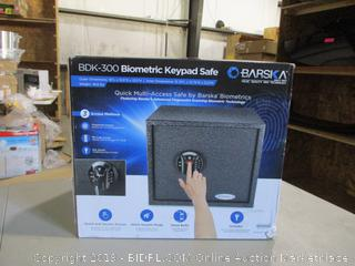Biometric Keypad Safe (Sealed)
