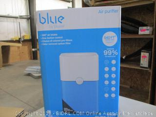 Blue Air Purifier (Sealed) (Box Damaged)