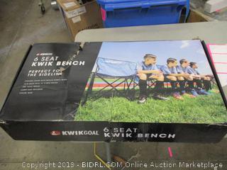 6 Seat Kwik Bench