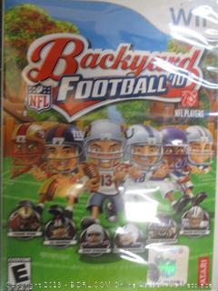 Wii Backyard Football
