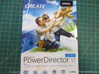 CyberLink Create Power Director 17