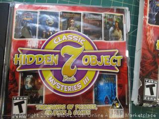 Hidden Object Classic Mysteries III 7 Pack