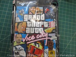 Play Station 2 Grand Theft Auto Vice City