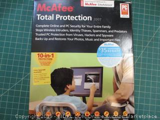 Mc Afee Total Protection