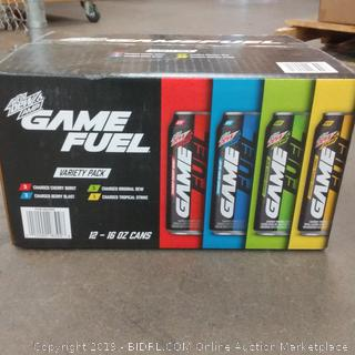 MtN Dew Amp Game Fuel Variety Pack