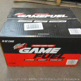 Mtn Dew Amp Charged Cherry Burst Game Fuel