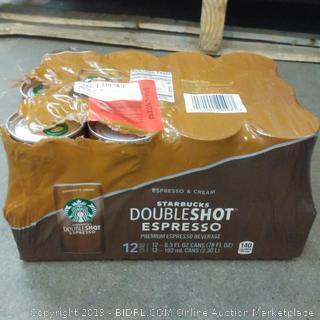 Starbucks Doubleshot,expresso + Cream