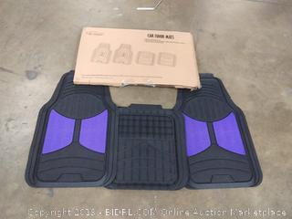 FH Group F11313PURPLE Rubber Floor (Purple Full Set - Galleon