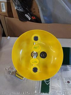 Speakman Eyesaver Eyewash with Round Yellow Plastic Bowl-SE