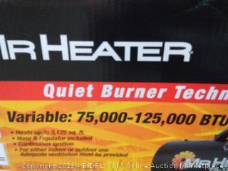 mr. heater 125000 BTU forced air propane heater